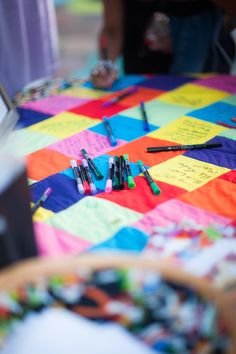 """Quilted """"Guestbook"""" 