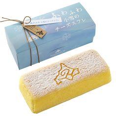 北海道スイーツセット/送料無料 Cake Packaging, Packaging Design, Sunglasses Case, Packing, Sweets, Asia, Cheese, Nice, Products