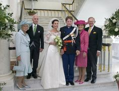 Prince Pieter-Christiaan of Orange-Nassau and Anita Van Eijk, August 27, 2005 | Royal Hats