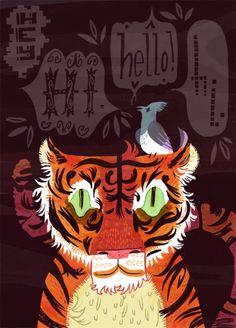 USA - Meg Hunt - Tiger Hello