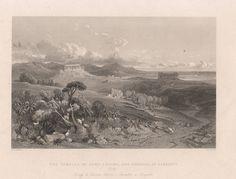 Agrigento, Girgenti, Tempio di Giunone, 1840
