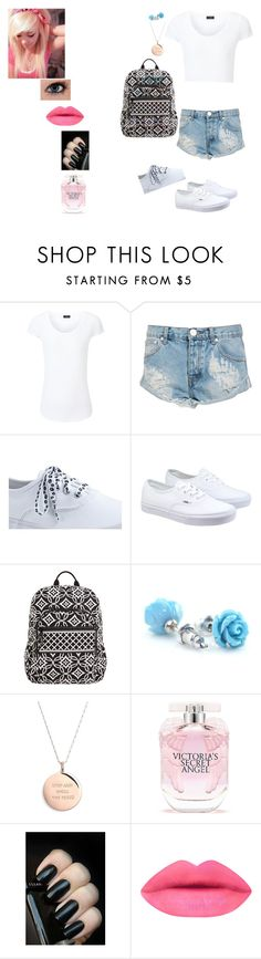 """""""You, this ain't high school me my crew we can slide through"""" by unicornsmilesxx ❤ liked on Polyvore featuring Joseph, One Teaspoon, 7 For All Mankind, Keds, Vans, Vera Bradley, Kate Spade, Victoria's Secret, Hipster and MyStyle"""