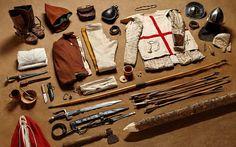 1415 fighting archer, Battle of Agincourt - Thom Atkinson