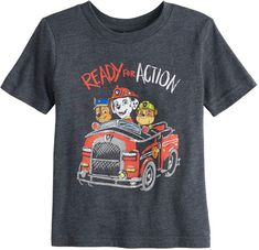 762fca609 Toddler Boy Jumping Beans Paw Patrol Ready For Action Graphic Tee