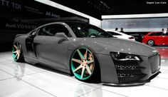 Ultra low Audi R8, should I lower the shmeemobile?