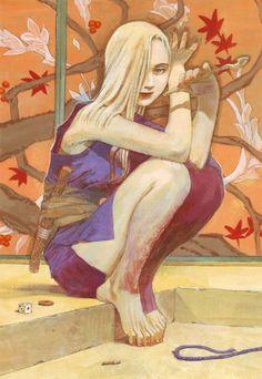 Hiroaki Samura, Blade of the Immortal, BotI Illustration Collection, Hyakurin