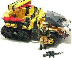 Vintage GI Joe 1989 Tiger Force Sting Jeep G.I Joe Toy Awesome Nostalgia Incomplete Rare Vintage