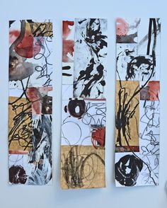 Jane Davies's Extreme Composition Class 1/7/2015 - collage by Vera Tchikovani