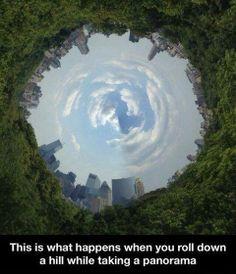 Looks Like Falling Into Hell