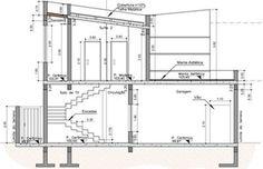 Plantas de Casas, Modelos de Casas e Sobrados e Fachadas de Casas Minimalist House Design, Minimalist Home, Modern House Design, Small Modern House Plans, Circle House, Model House Plan, Modern House Facades, Mansion Designs, Modern Townhouse