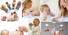 7 brincadeiras para estimular o bebê (0 a 3 meses)
