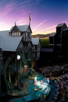 The Oregon Shakespeare Festival in Ashland, OR, USA. Must-Do if you're in Southern Oregon!