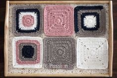 Free Solid Granny Square crochet pattern and detail pictures of the block. Join up the squares to make a bigger project or simply use it individually. - Page 2 of 2