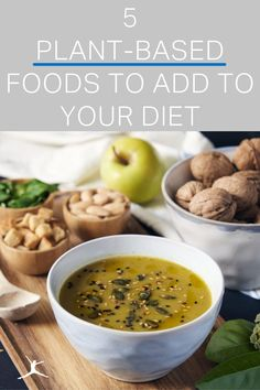 Add these five plant-based foods to your diet to get more vegetables and whole foods! Plant-based alternatives (Think: chickpea-flour pasta instead of traditional white flour), are a great way to replace foods in your diet that don't have much nutritional value. Plants are packed with fiber and phytonutrients our bodies need fiber supports weight-loss & aids gut health. People who consume less animal-based foods have lower cholesterol and blood pressure levels. #MyFitnessPal Healthy Eating Guidelines, Healthy Diet Recipes, Healthy Cooking, Whole Food Recipes, Eating Plans, Diet Plans, Low Sugar Diet, Clean Eating Challenge, Lower Cholesterol
