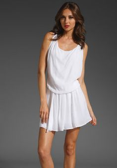 Alice + Olivia Felipa Draped Mini Pleated Dress