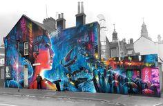 "82 Likes, 4 Comments - street art united states (@streetartunitedstates) on Instagram: ""DANK ( Dan Kitchener ) - London, Newham E15 - Latest epic scale mural / 75ft x 30ft freehand spray…"""