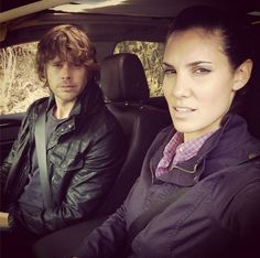 9. She knows how to do the Eric Christian Olsen squint.