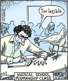 Cartoons about doctors Pharmacy Humor, Medical Humor, Funny Art, The Funny, Funny Animal Memes, Funny Memes, Hilarious, Jokes, Bizarro Comic