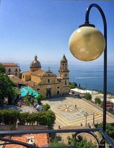 Piazza San Gennaro, Praiano,  Amalfi Coast, Italy