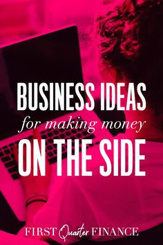 Check out our business ideas for making money on the side. Take up a side hustle to supplement your income. There are many options for increasing your income and we list them out for you. Click now to read more. Way To Make Money, How To Make, Part Time Jobs, Work From Home Jobs, Business Ideas, Hustle, Frugal, Investing, Finance