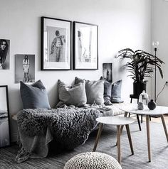 What a cosy living room ♡