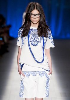 Chain Trend for Spring Summer 2013.  Just Cavalli  Spring Summer 2013.   #necklace   #trends
