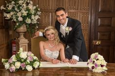 Gosfield Hall Bride and Groom