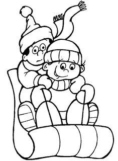 Winter Malvorlagen Gratis Colouring Pages For KidsPrintable