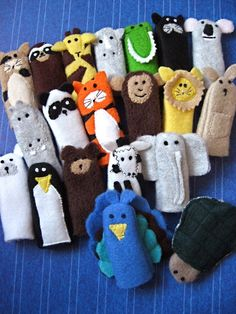 Zoo Finger Puppets