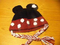 Minnie Kids Beanie Free Ravelry DL