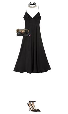 """""""5.435"""" by katrina-yeow ❤ liked on Polyvore featuring Zimmermann, BaubleBar, Gianvito Rossi and Gucci"""