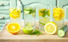 Blog EyeonSite. 8 ways to #flavour boost your #water_naturally. #Healthy water.