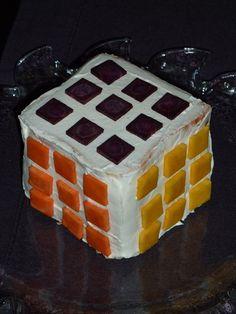 Pain surprise façon Rubik's Cube