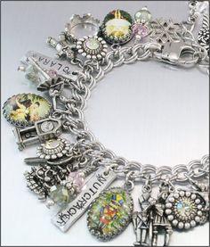 The Nutcracker Charm Bracelet by BlackberryDesigns on Etsy, $97.00