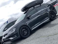 Golf SportWagen/Alltrack aftermarket or other model wheels (info and pictures) Jetta Wagon, Vw Wagon, Wagon Cars, Car Roof Box, Car Paint Jobs, Sports Wagon, Vw Golf Variant, Car Volkswagen, Car Painting