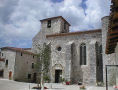 Pujols-le-Haut - Lot et Garonne Aquitaine, Beaux Villages, Cathedral Church, Belle Villa, Chapelle, Place Of Worship, Vignettes, Notre Dame, Architecture