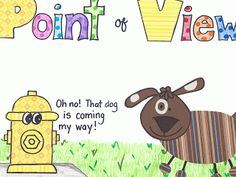 Freebie~Point of View Writing Craft Poster. Hey Little Ant and The Ant Bully~The PINK Pineapple