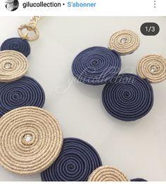 Soutache Jewelry, Textile Jewelry, Macrame Jewelry, Fabric Jewelry, Origami Jewelry, Jewelry Crafts, Jewelry Art, Fashion Jewelry, Jewellery