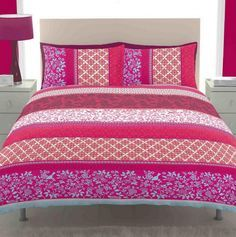 dark pink bedding ht