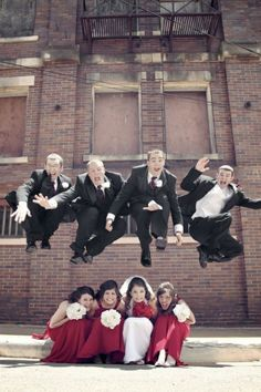 Fun photos ~ Wedding Party