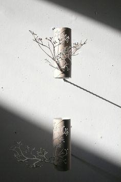 Yuken Terayu   Corner Forest installation: finding beauty in toilet rolls, clever