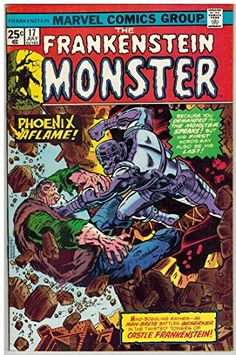 FRANKENSTEIN (1973) 17 F-VF July 1975 @ niftywarehouse.com #NiftyWarehouse #Frankenstein #Halloween #Horror #HorrorMovies #ClassicHorror #Movies