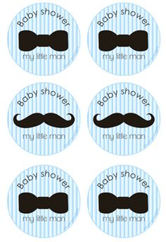 We Heart Parties: Free Printables Little Man Baby Shower