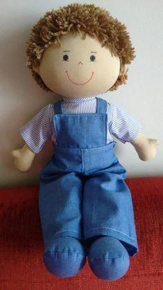 PDF cloth doll pattern Tutorial doll is 27 cm / 10 in Doll body Cloth Doll Pattern PDF Sewing Tutorial Soft Doll Pattern DIY pdf pattern Sock Dolls, Felt Dolls, Doll Toys, Fabric Doll Pattern, Fabric Dolls, Fabric Art, Doll Clothes Patterns, Doll Patterns, Sewing Dolls