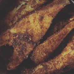 Pomfret fry made by mom!