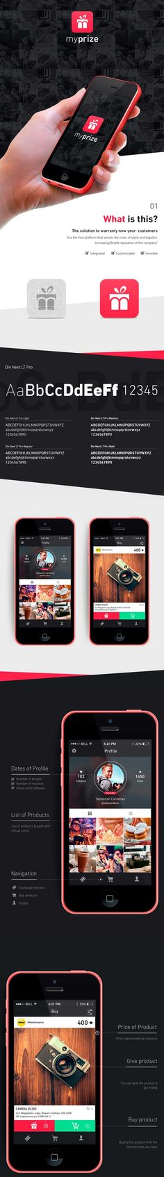 Myprize  ios smartphone app