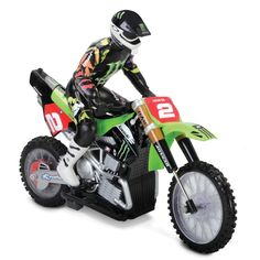 The Back Flipping Remote Controlled Motorcycle - Hammacher Schlemmer