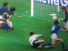 1982 World Cup Final. Rossi scores