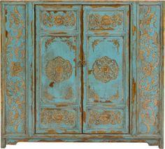 Painted 2-Door Cabinet - Four Hands