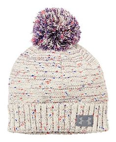 This Under Armour Speckle Beanie is super cute, I really like beanies with puff balls on top! Under Armour Outfits, Nike Under Armour, Under Armour Sport, Under Armour Hoodie, Under Armour Girls, Fall Winter Outfits, Winter Wear, Winter Hats, Beanie Hats